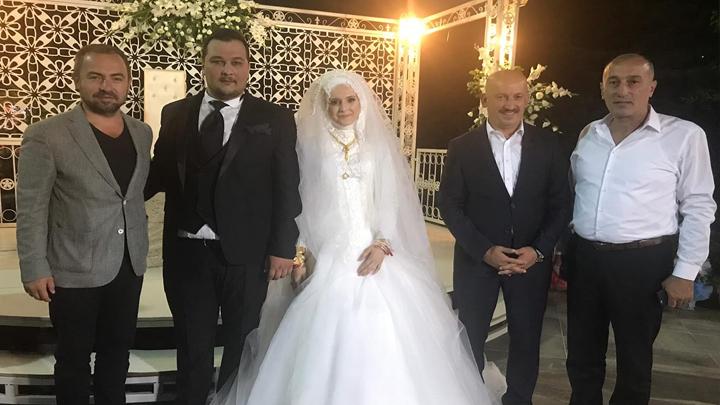 Mehmet İşbilen ile Tuğçe Özçelik'in düğün merasimine katıldık.