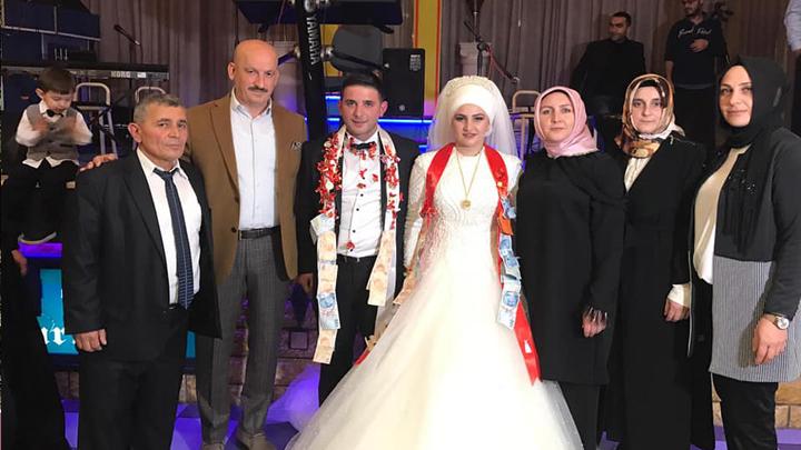 Hüseyin Şimşek ile Binnur Arslan çiftinin düğün merasimine katıldık