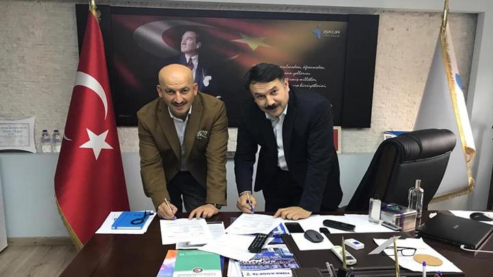 Belediyemiz ile İŞKUR arasında Toplum Yararına Program Sözleşmesi İmzalandı