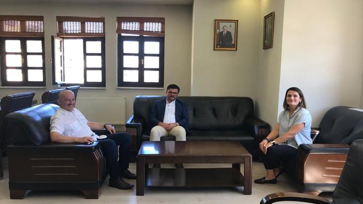Düzce Gençlik ve Spor İl Müdürü İsa Yazıcı'nın Belediyemizi Ziyareti