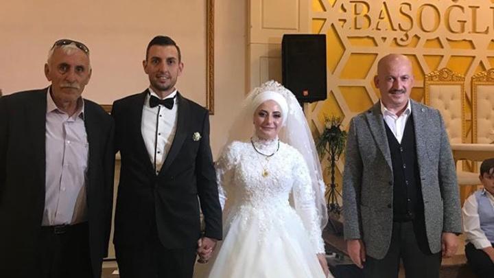 Ersoy Sert ile Elif Yılmaz'ın düğün merasimine katıldık