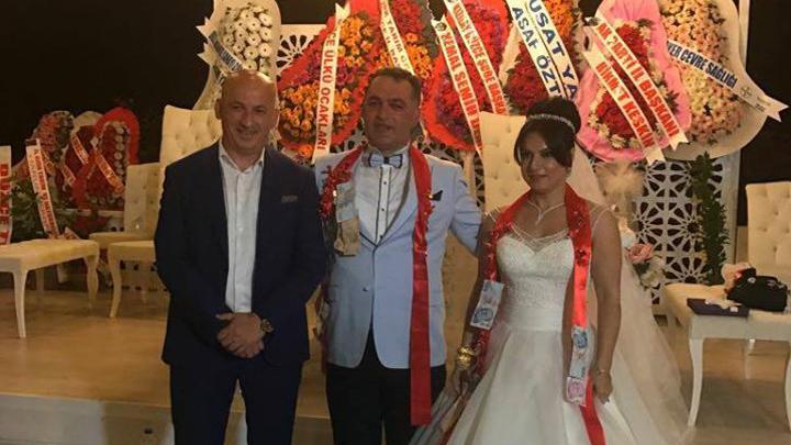Ziraat Mühendisleri Odası Başkanı Hakan ÇETİN'in Düğün Merasimi