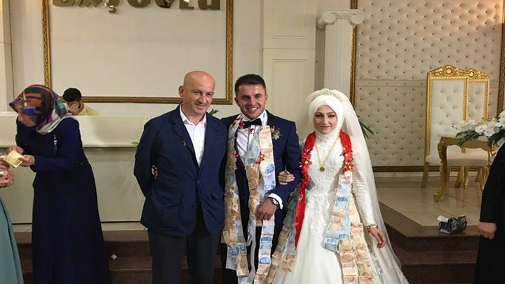 Nuray MUTLU ile Aydın ÇABUKOĞLU çiftinin düğün merasimi