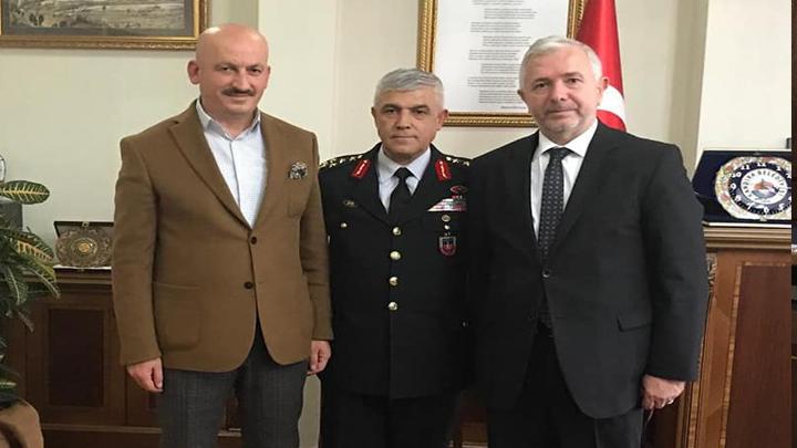 Ankara İl Müftüsü Sayın Mehmet Sönmezoğlu 'nu makamında ziyaret ettik