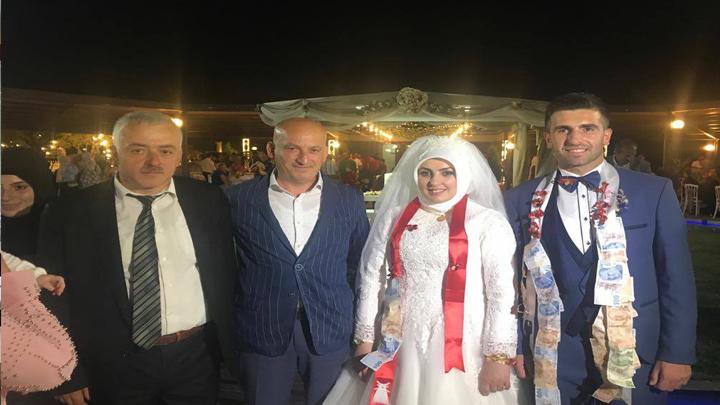 Seher ALEMDAR ile Rıdvan ŞENGÜLOĞLU çiftinin düğün merasimine katıldık.