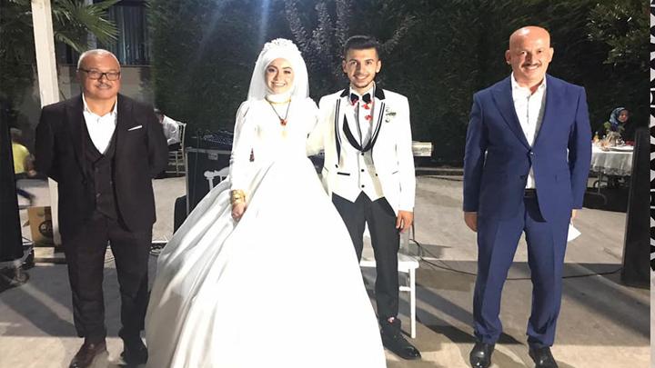 Özge Terzioğlu ile Bülentcan Keser'in düğün merasimine katıldık