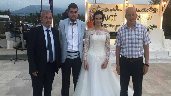 Selin SERTOĞLU ile Selim ŞANLI çiftinin düğün merasimine katıldık