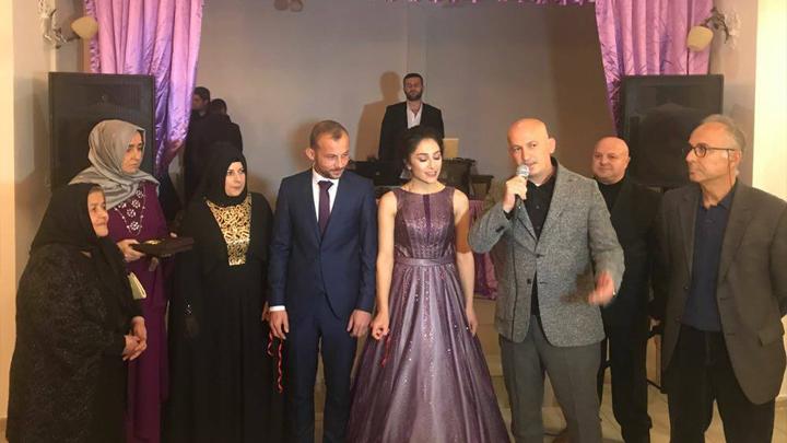 Aynur ÇAVUŞ ile Ömer ÖZMEN'in nişan merasimine katıldık