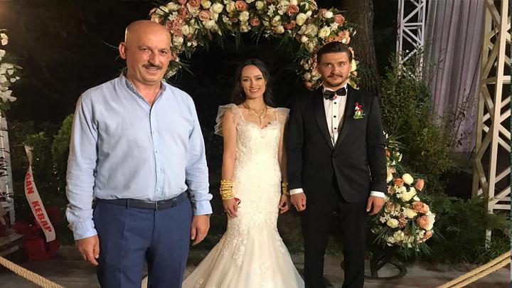 Merve İşbilen ile Burak Kılıç'ın düğün merasimine katıldık