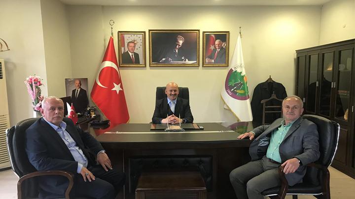 BEM-BİR-SEN Genel Başkan Yardımcısı Nurettin Sever'in tebrik ziyareti