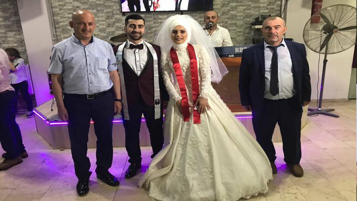 Çiğdem HURMACI ile Cihan İZMİRLİ çiftinin düğün merasimi