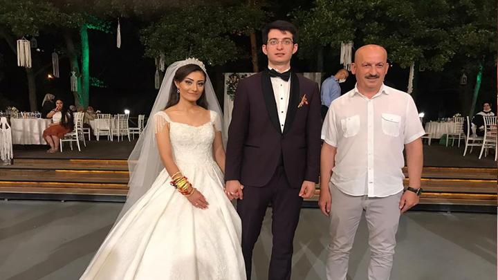 Merve Sercan ile Seyyid Ömer Çakır'ın düğün merasimine katıldık