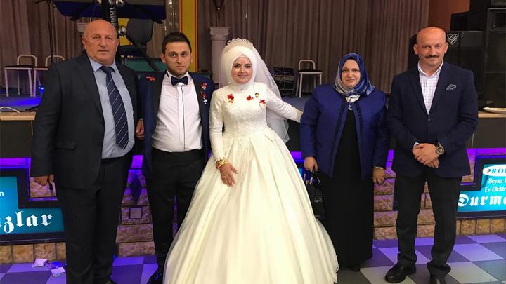 Emine SERT ile Murat YILDIZ'ın düğün merasimine katıldık