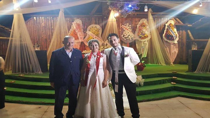 Dilek DOĞAN ile Umut BASKAN çiftinin düğün merasimine katıldık