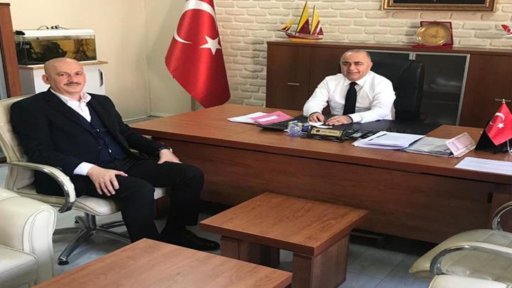 Düzce Milli Emlak Müdürü Sayın Zafer EKİNCİ'ye çalışma ziyaretimiz