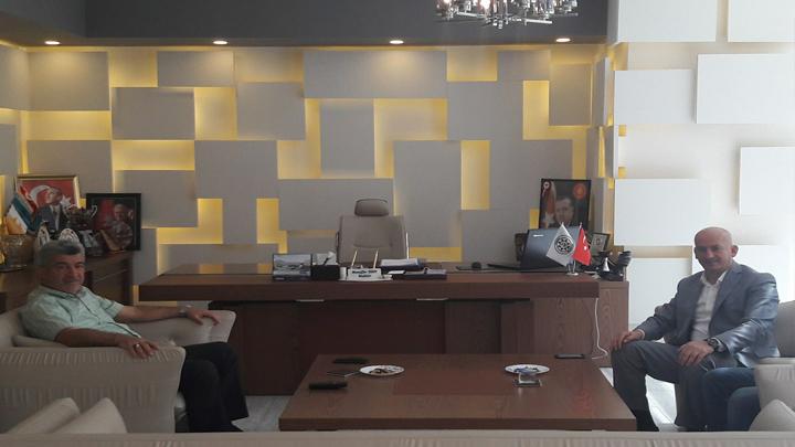 Yığılca BelediyeBaşkanı Sayın Muzaffer YİĞİT'e ziyaretimiz