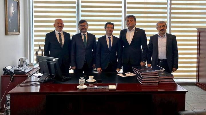 İLBANK Yatırım Dairesi Başkanı Sayın İlker Şadi İşleyen'e ziyaretimiz