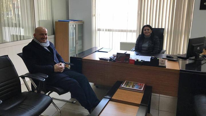 Sosyal Yardımlaşma ve Dayanışma Vakfi Müdür V. Sibel ŞAHIN'e çalışma ziyaretimiz