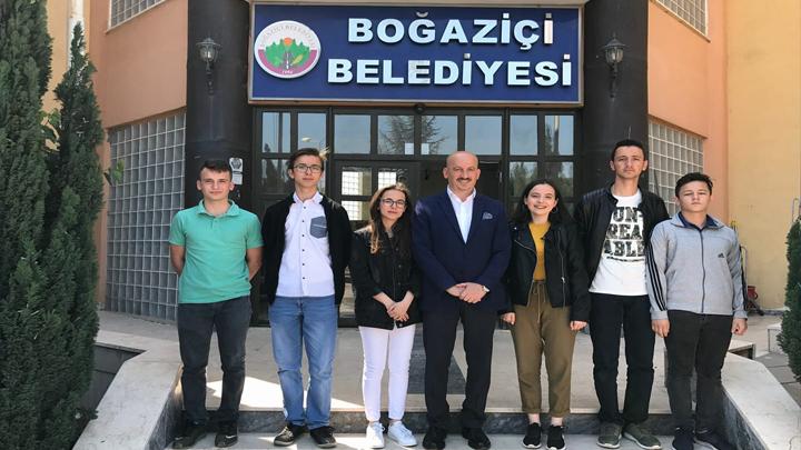 Akçakoca Sosyal Bilimler Lisesi öğrencilerinin Ziyareti