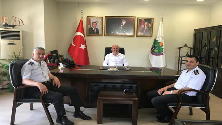Düzce İl Jandarma Komutanı J.Kd.Albay Mustafa Çetinkaya 'nın Ziyareti