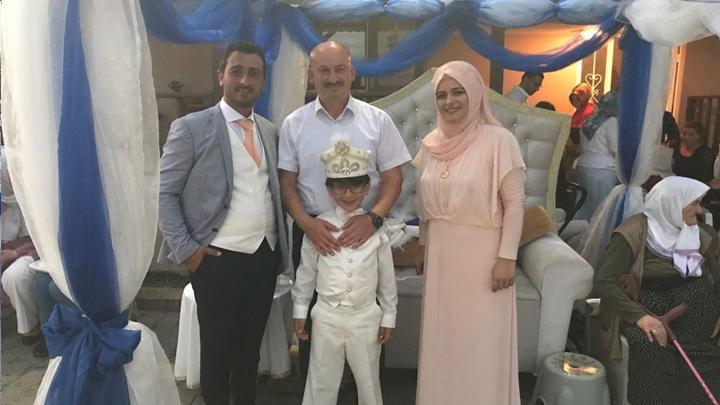 Gül ile Murat Sert'in oğlu Eymen Kadir'in sünnet merasimine katıldık