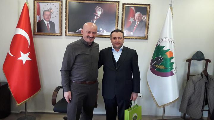 DERGAZ Bölge Müdürü Mustafa DOĞAN'ın veda ziyareti
