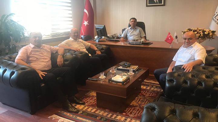 İlbank Bölge Müdürü Levent Yanar'a ziyaretimiz