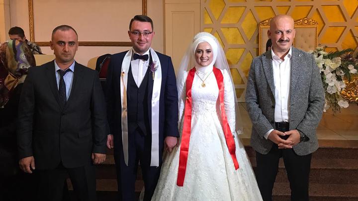 Hatice İnan ile Salih Çalışkan çiftinin düğün merasimine katıldık