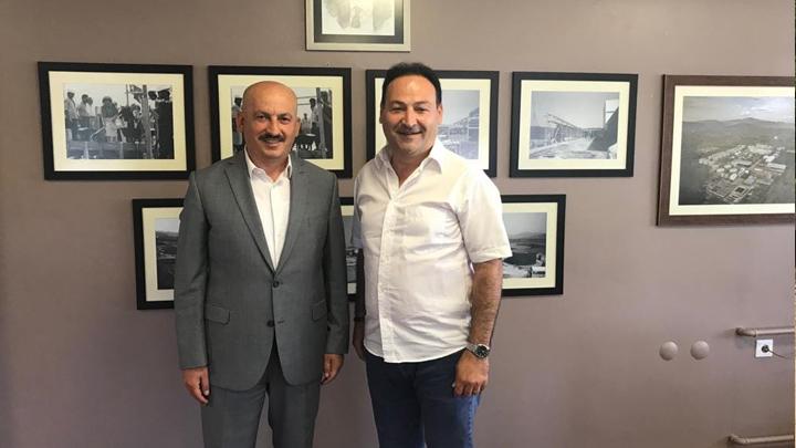 Pakmaya Fabrika Müdürü Sayın Orkun Türkmen'e ziyaretimiz