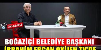 Boğaziçi Belediye Başkanı İbrahim Ercan'ın Oxijen.tv'ye ziyareti