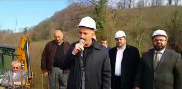 Boğaziçi'inde Düğün Salonu Temel Atma Töreni Yapıldı