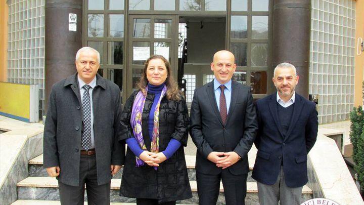 Prof. Dr. Nigar DEMİRCAN ÇAKAR Belediyemizi Ziyaret Etti