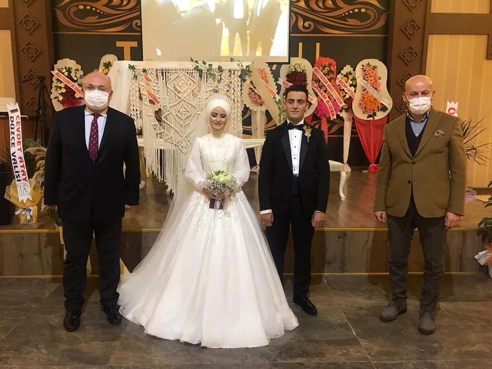 Ahmet Bilgin ile Elif Kara'nın düğün merasimine katıldık