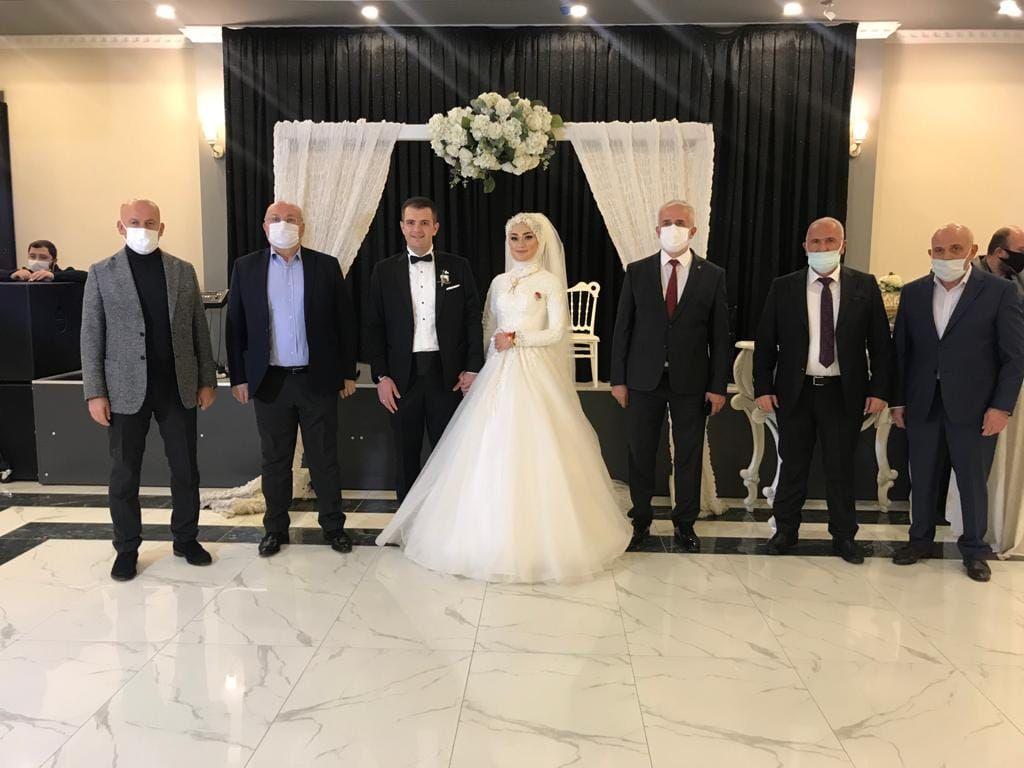 Elmas Saadet Duman ile Uğurcan Çabuk'un düğün merasimine katıldık