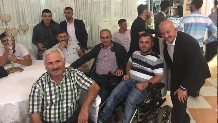 Belediye Başkanımız Sayın İbrahim Ercan , Kabalak köyünden İlyas Çavuş ile birlikte...