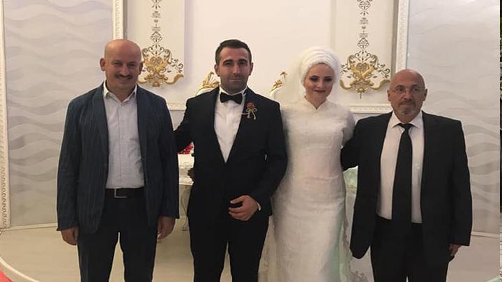 Meltem Soyer ile Kerim Akpınar çiftinin düğün merasimine katıldık
