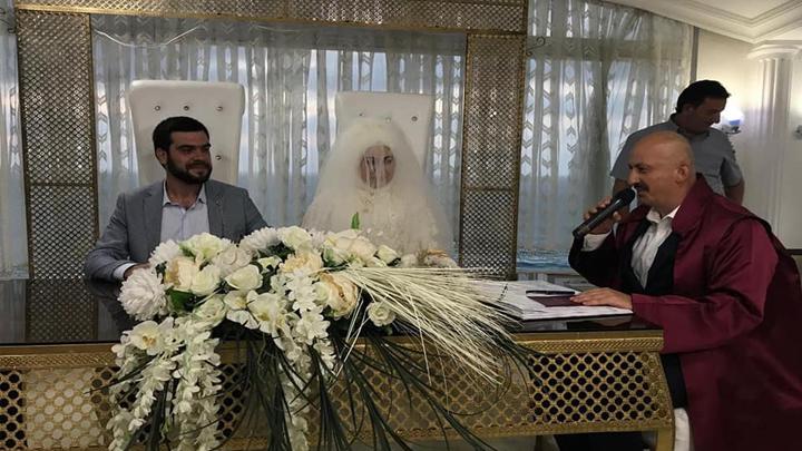 Hediye Sağlam ile Süleyman Alemdar'ın nikah akdini gerçekleştirdik