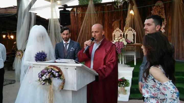 Aslı ÖZGEN ile İsmail AMAN çiftinin düğün merasimi