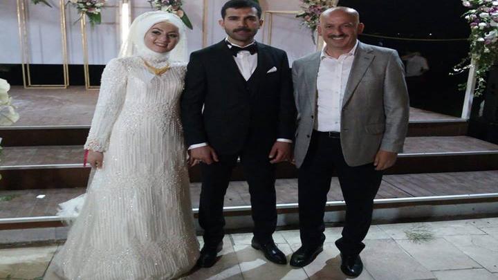 Ayşe ARSLAN ve Murat ILGAZ çiftinin düğün merasimine katıldık