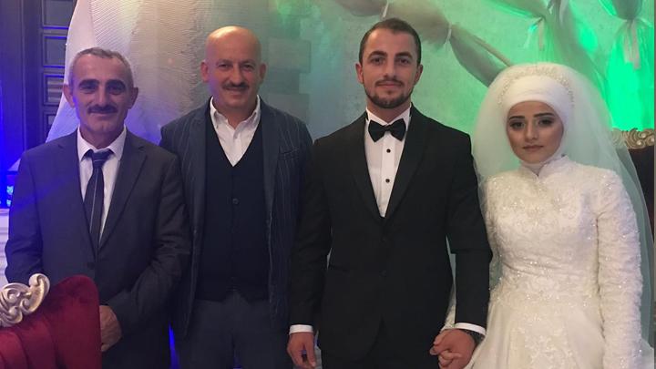Esra Kürkaya ile Emrullah Sarıgüzel'in düğün merasimine katıldık