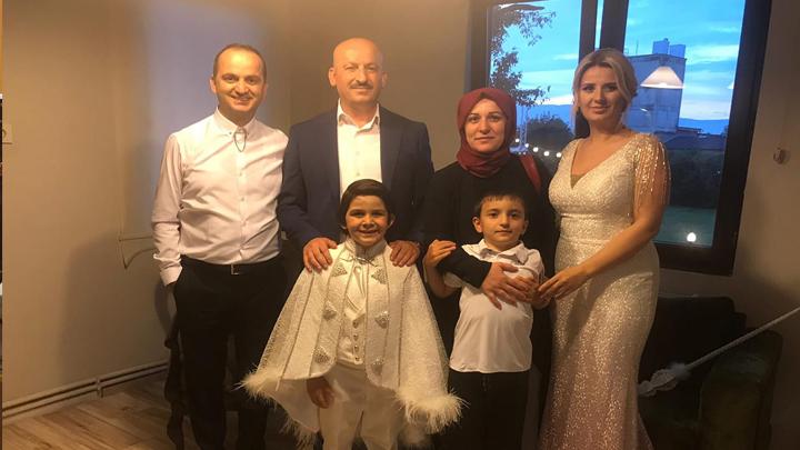 Çatana ailesinin çocukları Egemert Çatana'nın sünnet merasimine katıldık