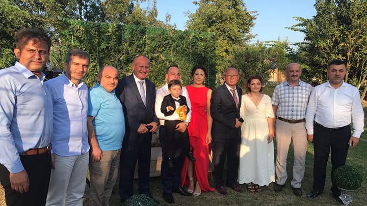 Düzce Belediye eski Başkanı Mehmet Keleş'in torunu Onur Kaan'ın sünnet merasimi