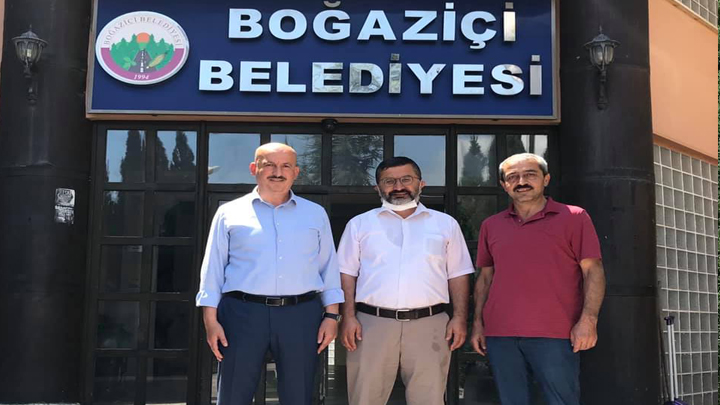 Sayın Ahmet AZAP ile Sayın Recep TUNA'nın Ziyaretleri