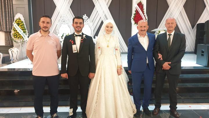 Saliha Dinç ile Eneshan Nalbant'ın düğün merasimine katıldık