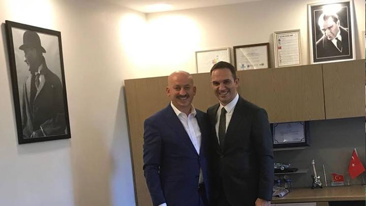 SEDAŞ Dağıtım Direktörü Sayın Dr. Ersan Şentürk'e çalışma ziyaretimiz