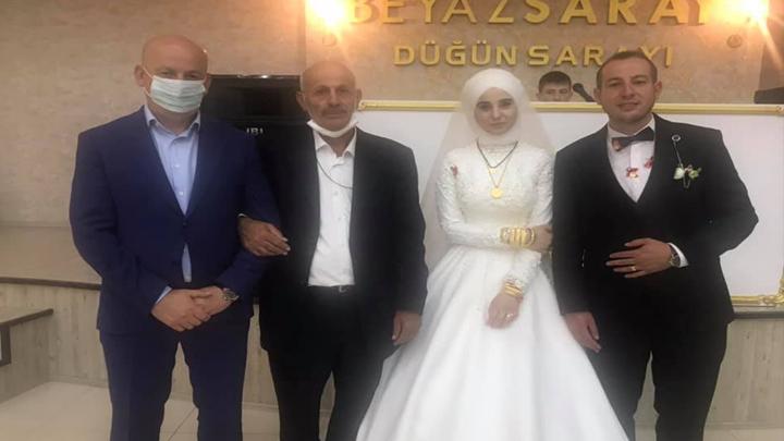 Oktay Aksu ile Cansu Kara?nın düğün merasimine katıldık