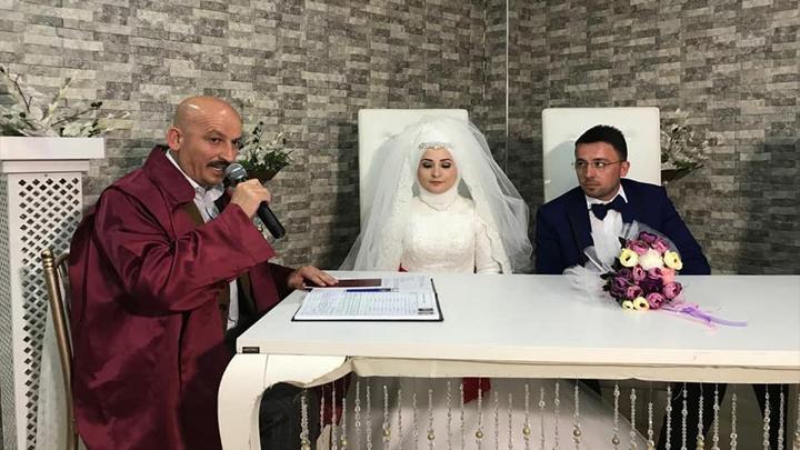 Arzu POYRAZ ile Şükrü TORAMANOĞLU'nun düğün merasimine katıldık