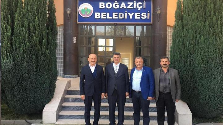 Milliyetçi Hareket Partisi Düzce Milletvekili Sayın Ümit Yılmaz'ın ziyareti