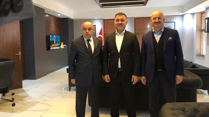 Çilimli Belediye Başkanı Sayın Muhsin Yavuz 'u tebrik ziyaretimiz