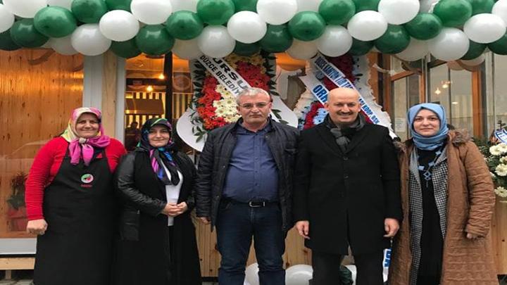 Meryem ve Orhan Ercan'ın işyeri açılışına katıldık